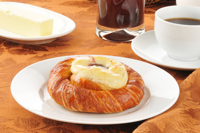 cheese danish sells itself for marketing image