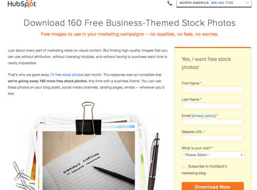 hubspot, image, marketing, visual design tool, stock photo