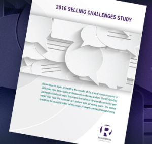 2016 selling challenges study image