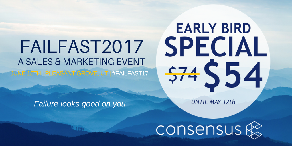 Consensus SaaS tech event failfast2017